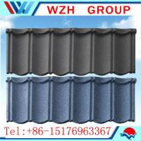 Wholesale classic type stone coated roof tile with aluzinc steel coated back side from china suppliers
