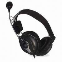 Wholesale Wired Computer Headset with Mic and High Stereo Sound from china suppliers