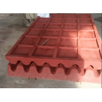 Wholesale PE250x400 Movable Plate Mn22 Jaw Plate Crusher Spare Parts from china suppliers