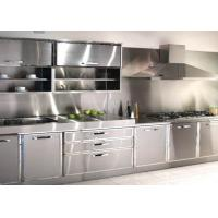 China Anti Crack Stainless Steel Industrial Kitchen Equipment With Good Impact Resistance / Hardness on sale