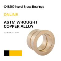 Wholesale C48200 Naval Brass Bearings | ASTM Wrought Copper Alloy Bushing & Plate from china suppliers