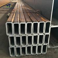 Wholesale SS400 STKR400 Thin Wall Rectangular Steel Tubing ERW Technique 10-610mm OD from china suppliers