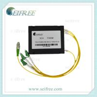 Wholesale Supply 1X2 SMF-28e fiber optic fused WDM with plastic box from china suppliers