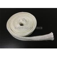 Electrical Insulation High Silica Fabric , Heat Resistant Sleeving