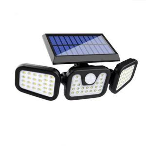 Wholesale Solar Wall Light with Motion Sensor for Yard Garden with 4 Adjust angle Heads from china suppliers