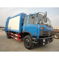 Dongfeng 4*2 LHD compactor garbage truck for sale, factory sale best price dongfeng 190hp diesel garbage compacted trucK