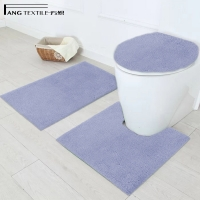 Buy cheap BSCI Shaggy Micro Polyester Bath Rug Anti Bacterial from wholesalers