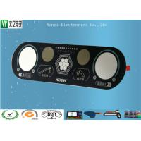 Wholesale RoHs Flat Membrane Switch 0.175mm Overlay Medical Device Sand Effect from china suppliers