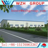 Buy cheap Pre enginering steel structure warehouse in Africa from wholesalers