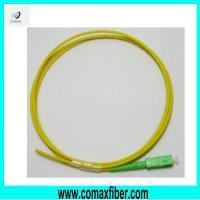 Wholesale SC APC 3.0mm singlemode fiber optic pigtail from china suppliers