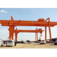 Wholesale Heavy Duty Double Girder Gantry Crane Electric For Loading Unloading High Strength from china suppliers
