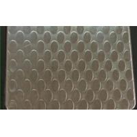 Wholesale SUS 409 Patterned Stainless Steel Sheet , Textured Stainless Steel Sheet Metal from china suppliers