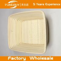 Wholesale Professional handmade 100% natural canne batnneton in storage basket dough rising basket banneton, brotform from china suppliers