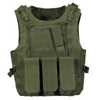 China Police Camouflage Tactical Vest with different size's Magazine bag wholesale