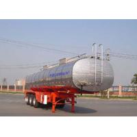 Wholesale 30000L Grape Wine / Milk Liquid Tank Trailers Stainless Steel SS304 Material from china suppliers