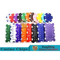 Wholesale 11.5g - 32g Clay Poker Chips With Sticker With Unique Dice Fancy Mold Design from china suppliers