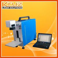 Fiber laser marking machine 20W, air cooling system, no need of maintenance;Stable performance,  applied to metal .