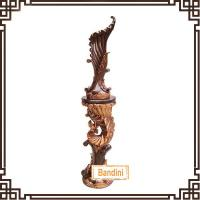 Wholesale classical style fashionable custom home decorative resin floor vases A0254-1Y+8815-1Y from china suppliers