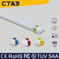 Wholesale t8 double end cap led tube 10w 60cm 120deg 72smd2835 950lm CE ROHS from china suppliers