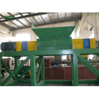 Wholesale Double Shaft Rubber Wood Shredder Machine Custom Color 22*2KW Low Maintainance from china suppliers