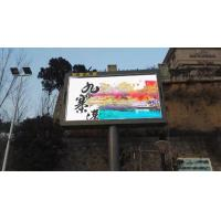 China Front Opening Cabinet 1/4 Scan High Resolution Led Screen Display SMD 10 Mm Pixel Pitch wholesale