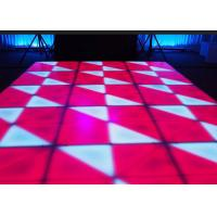 China Portable DJ Stage LED Dance Floor Indoor For Wedding Bar Club / Events , DMX Control wholesale