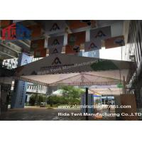 Wholesale Outdoor Aluminum Stage Truss LED Screen Lighting Truss Crank StandsWhite Fabric from china suppliers