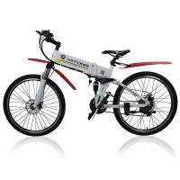 Wholesale 26 Inches Electric City Bike 250 Watt 36 V Lightweight Folding Hybrid Type from china suppliers