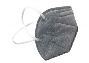 Wholesale Foldable Grey Valved Air Pollution KN95 Dustproof Mask from china suppliers