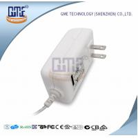 Wholesale White 2PIN AC DC Power Adapter , Wall Mount Power Adapter For Home Appliances from china suppliers