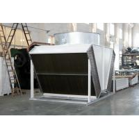 Wholesale tube fin adiabatic air cooled condensers dry coolers for airport from china suppliers