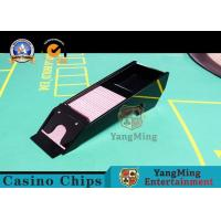 Wholesale Waterproof Casino Card Shoe , Eight Deck Acrylic Playing Cards Dispenser Case from china suppliers