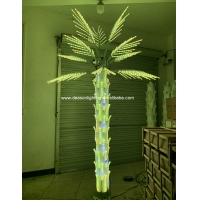 Wholesale led color changing palm tree light from china suppliers