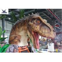 ... Quality Dinosaur Yard Statue With Realistic Head Model , Dinosaur  Garden Sculpture For Sale ...