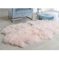 Wholesale Curly Long Hair Tibetan Mongolian Sheepskin Fur Rug Music Memorabilia