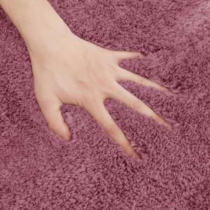 Wholesale BSCI 100% Polyester Anti Skid Fluffy Shaggy Bathroom Floor Carpet from china suppliers