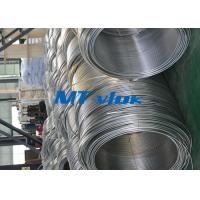 Wholesale 3 / 8 Inch ASTM A269 Small Diameter Stainless Steel Welded Super Long Coiled Steel Tubing from china suppliers