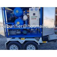 Wholesale Mobile Trailer Type Transformer Oil Filtration Plant, Vacuum Insulation Fluids Treatment Machine with car wheels movable from china suppliers