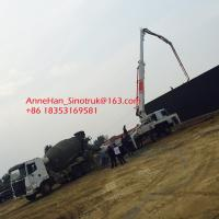 Wholesale High Durability Sinotruk Concrete Pumping Equipment With 53 Meters Arms from china suppliers