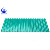 Wholesale Heat Insulation Green Plastic Roofing Sheets Tiles 1.0 Mm Thickness from china suppliers