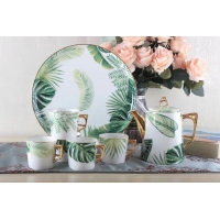 Wholesale OEM Dutch Mouth Unique Shape Food Safe Fine Bone China Kettle from china suppliers