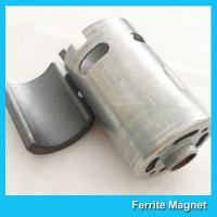 Wholesale Permanent Ferrite Arc Magnet SrO / Bao / Fe2O3 Material For Motor Generator from china suppliers