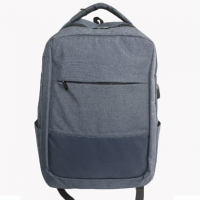 Wholesale Washable Polyester Business Laptop Backpack With USB from china suppliers