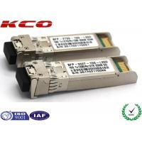China 20KM 10GB Single Mode Simplex LC Connector SFP Fiber Optic Transceiver With DDM wholesale