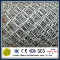 Wholesale Hot dipped galvanized used chain link fence from china suppliers