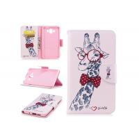 Wholesale Lovely Giraffe Card Pocket Phone Case , Cell Phone Wallet Case For Huawei from china suppliers
