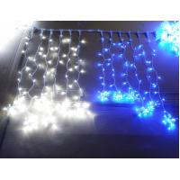 Wholesale Decorative LED curtain star string lights for Christmas decoration from china suppliers