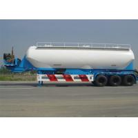 Wholesale 37000m3 Capacity Dry Bulk Pneumatic Tank Trailers , 3 Axle Dry Bulk Cement Trailers from china suppliers