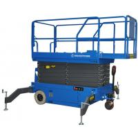 Buy cheap 10 Meters Hydraulic Scissor Lift Platform with Motorized Device 300kg Loading from wholesalers
