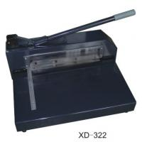 Wholesale Manual Paper Cutting Machine , Electric Heavy Duty Paper Cutter  XD-322 from china suppliers